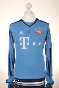 detailed look 7436d c1ff8 Details about Manuel Neuer Signed Shirt Bayern Munich Autograph GK Jersey  Memorabilia COA