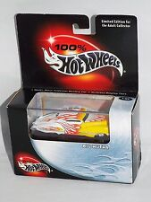 100% Hot Wheels Collectibles Big Mutha White w/ Plastic Display Case