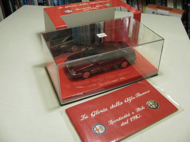 1/43 Minichamps Alfa Romeo 164 3.0 V6 Super (2018) Diecast