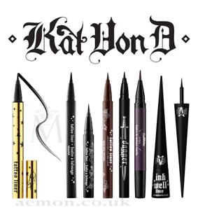 5857511f8a0 Image is loading Kat-Von-D-Tattoo-liner-Anniversary-waterproof-eyeliner-