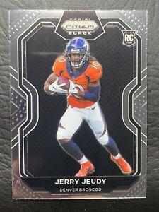 2020 Chronicles Prizm Black Rookie Jerry Jeudy #PB-12 Denver Broncos RC