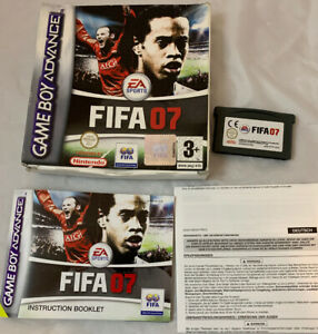 Fifa-07-Nintendo-Gameboy-Advance-PAL-version-Complete-With-Box-And-Manual