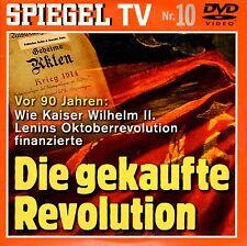 Vor 90 Jahren: Die gekaufte Revolution / NEU - DVD / Spiegel TV 10