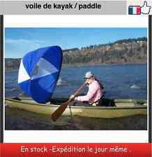 Voile pour Paddle kayak canoe aviron bateau pneumatique