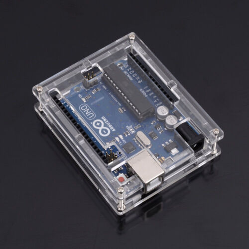 Acrylic Box Enclosure Transparent Case for Arduino MEGA2560 R3 Arduino UNO R3 DE