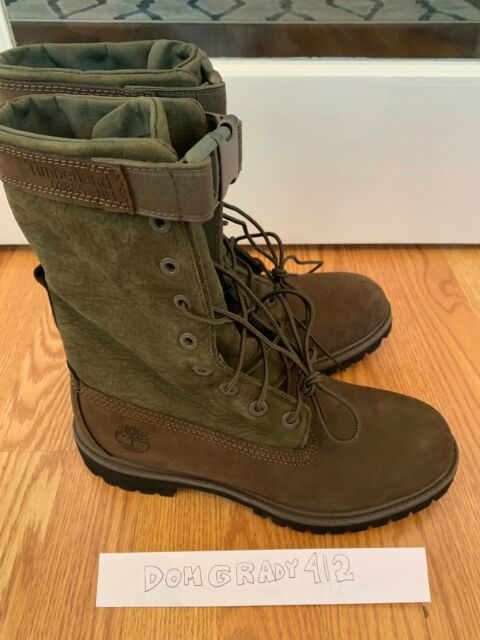 Timberland Premium Gaiter Boot TB0A1Z2C Brown Green Chocolate Mens 8 11 13