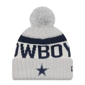 Image is loading Dallas-Cowboys-New-Era-White-Sport-Knit-Beanie- 2f502c1cc