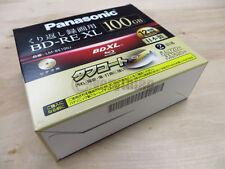 5 Panasonic LM-BE100J BDXL 100GB BD-RE XL Blu-Ray Triple Layer Rewritable Disc