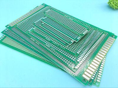 10 STÜCKE Double Side PCB Streifen Board Printed Circuit Prototyp Track WRDE