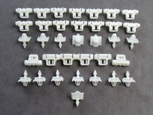 50x BARRE ornamentali parentesi clip Beplankung klips MERCEDES BENZ sacco a0019885181