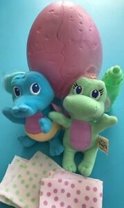 dragon tales plush easter egg babies toys gifts ebay