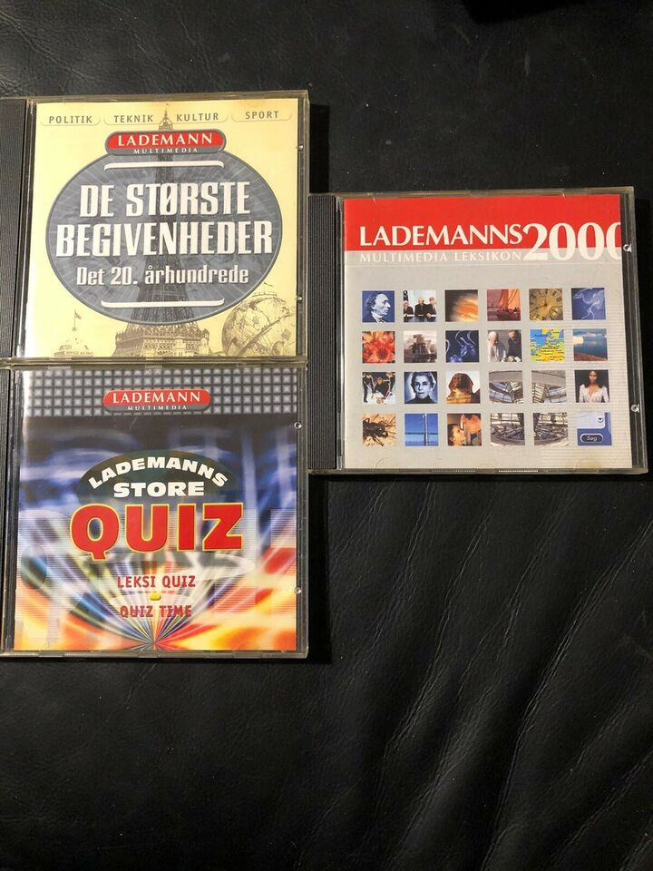 Lademanns leksikon, de største begivenheder , lade