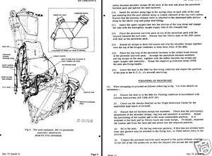 martin baker mk 2 mk2 ejection seat parts manual service historic rh ebay co uk seat leon mk2 user manual Instruction Manual Example