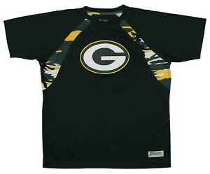 quality design 5e9bb 28708 Details about Zubaz NFL Men's Green Bay Packers Camo Solid T-Shirt