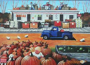 PUZZLE-JIGSAW-LIMVALENCIA-Smashin-039-Pumpkins-1000-Factory-Sealed