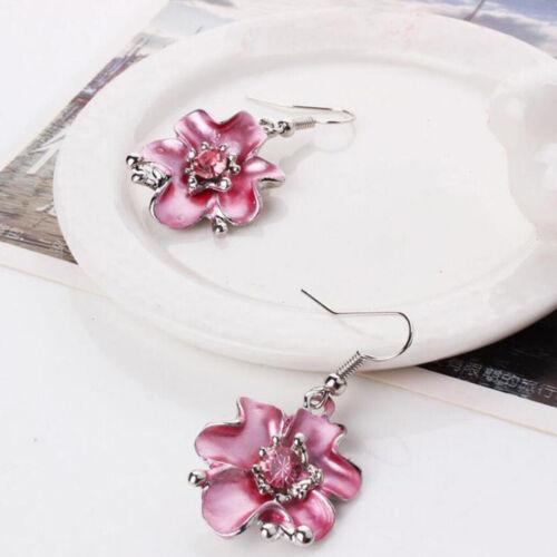 Fashion Chaîne et pendentif fleurs Choker Chunky Déclaration Femmes Bavoir Collier