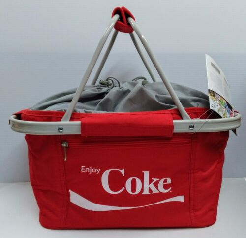 Coca-Cola Metro Picnic Basket - BRAND NEW
