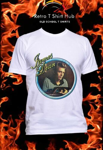 JAMES DEAN MOVIE LEGEND CLASSIC  Retro VINTAGE TSHIRT