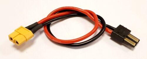 MLine Ladekabel XT60 Buchse TRX passend für HOTA ISDT