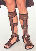 Mens Gladiator Sandals Roman Viking Biblical Costume Accessory Adult One Size