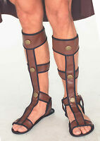 Mens Gladiator Sandals Roman Viking Biblical Costume Accessory Adult One Size