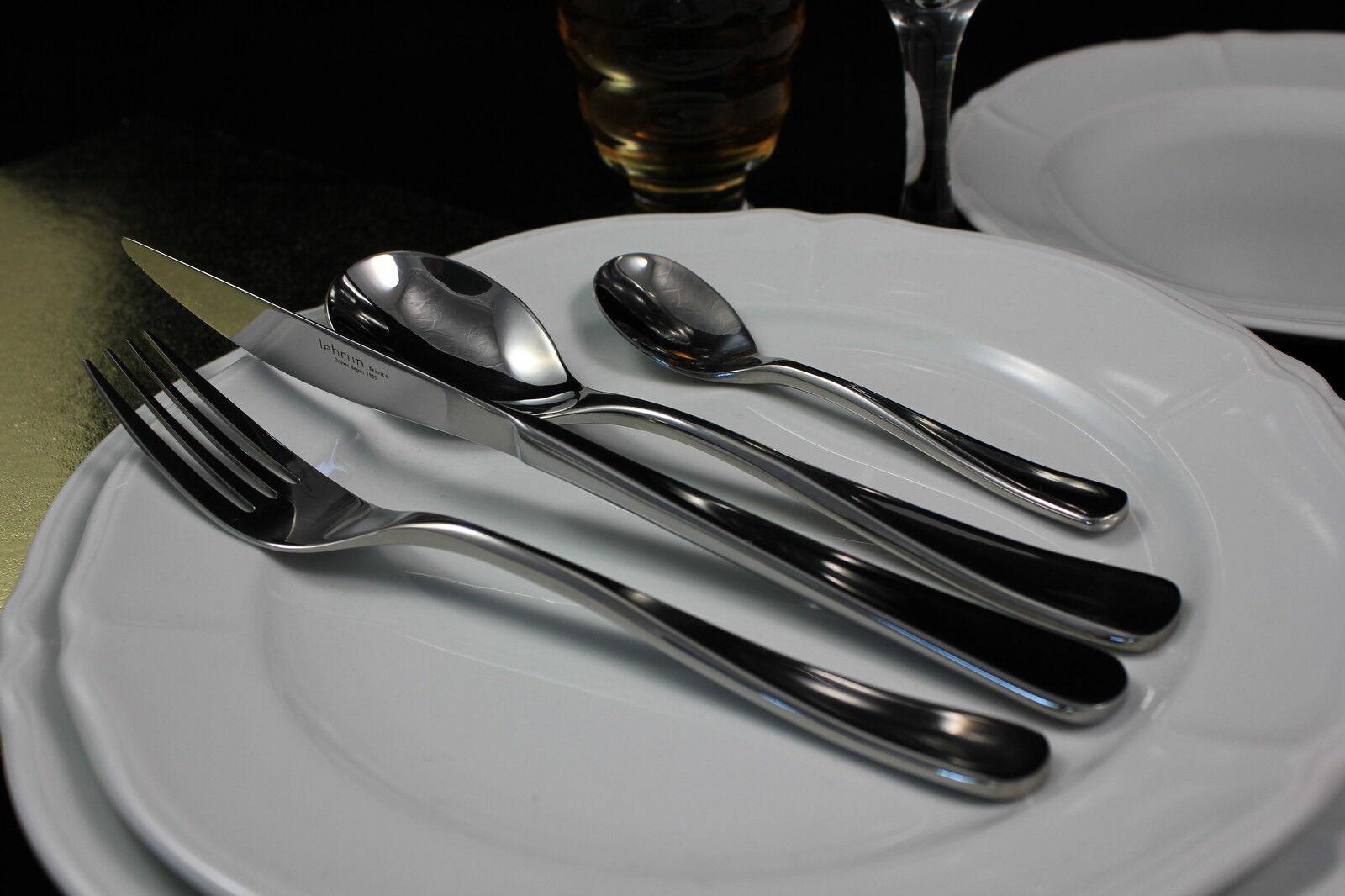Set POSATE  Ipanema  in acciaio inox 18 10, 24 pezzi di Lebrun per 6 persone