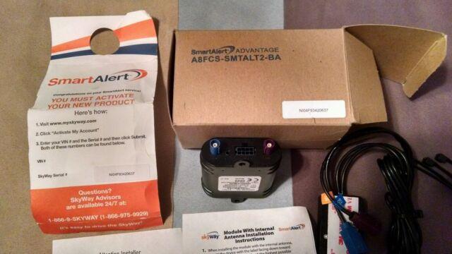 Ford Smartalert Advantage A8fcs-smtalt2-ba Stolen Vehicle Recovery System
