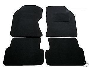 Rmsone GENUINE FULLY TAILORED BLACK CARPET CAR MATS FOCUS 2011-2015 BLACK TRIM
