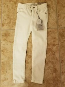 d231e70c Image is loading Zara-girls-size-5-white-skinny-jeans