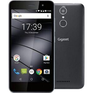 GIGASET-GS160-BLACK-ANDROID-DUAL-SIM-SMARTPHONE-HANDY-OHNE-VERTRAG-LTE-4G-WiFi