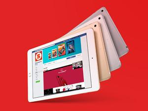 "Paypal Apple New Ipad 2017 128gb WiFi 9.7"" 9.7in Wi-Fi New COD Retina Agsbeagle"