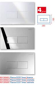 Pucci Bagno.Placca Pucci Eco Linea Bianca E Cromo 4 7mm Wc Incasso Cassetta Incasso Bagno Ebay