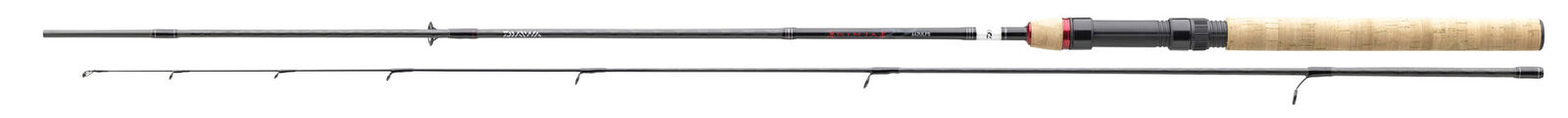 DAIWA NINJA X UL SPIN - Ultra Light Spinnrute 1,80m 2-8g / 1,90m 1-9g