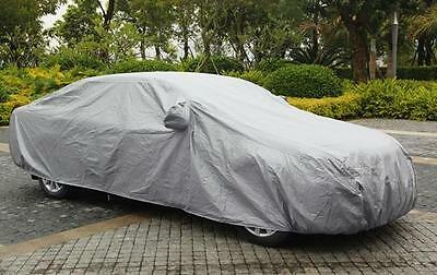 M - Foldable Snow Wind Dust Resistant Waterproof UV Outdoor Full Car Auto Cover