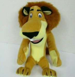 Madagascar Escape 2 Africa Alex Lion Plush 2008 Dreamworks 11 Inch Ebay