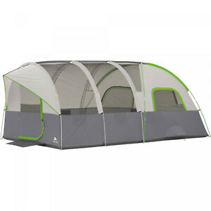 Modified-Dome-Tunnel-Tent-16-X-8-8-Person-Outdoor-Camping-Shelter-Cabin-Tent