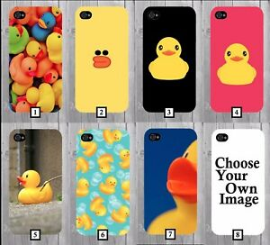 Rubber Duck Phone Case Cover Ducks Yellow Bath Pattern Funny Gift
