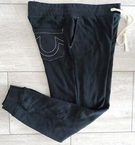TRUE RELIGION Jeans CLASSIC LOGO JOGGER SWEATPANT Herren Hose Gr.L NEU ETIKETT