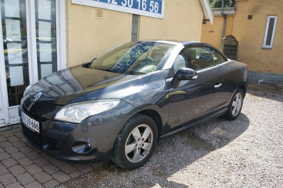 Renault Megane III 1,4 TCe 130 Privilège CC Benzin modelår
