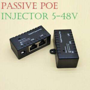 PoE-Power-over-Ethernet-Passif-injecteur-Splitter-adaptateur-Telephones-VoIP-Cameras-IP