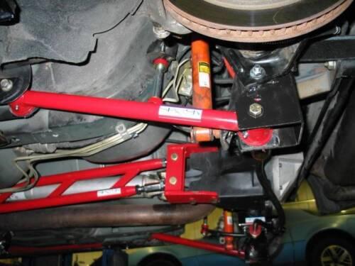 Tubular Rear Lower Control Arms with Polyurethane Bushings1982-2002 GM F-Body