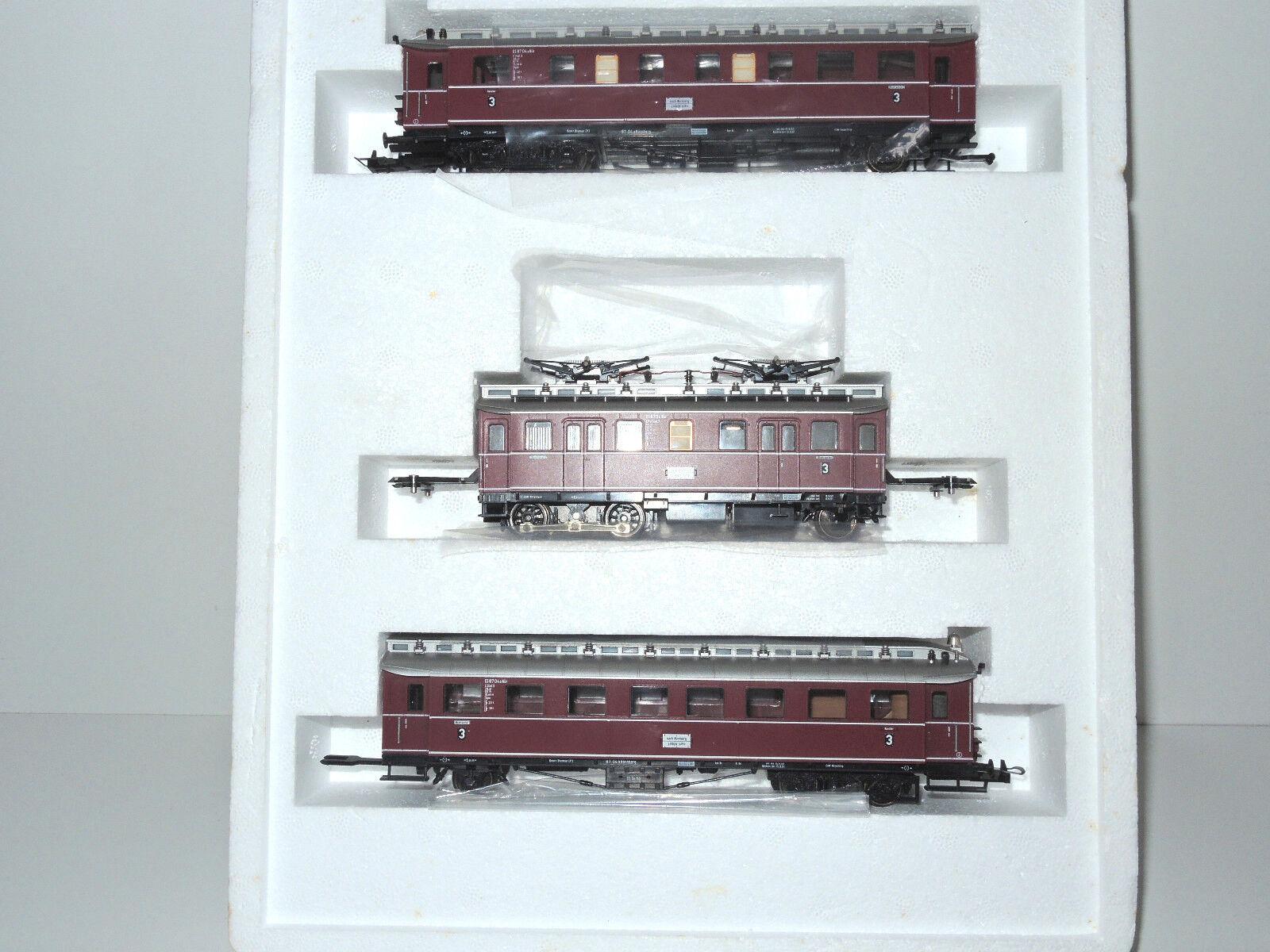 prezzi più convenienti Trix 22492 22492 22492 DB-trainante autorello-Treno. et 87, 3 pezzi, molto bene    OVP  godendo i tuoi acquisti