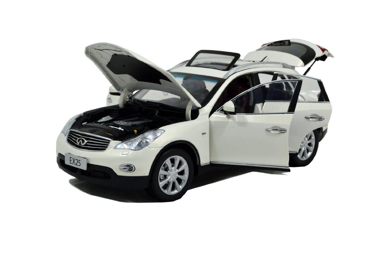 PAUDI 2012 INFINITI EX25 EX 25 WHITE 1 18 DIECAST MODEL CAR  5507
