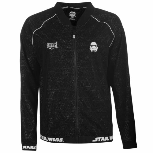 Everlast Star Wars Bomber Jacket Womens Black Full Zip Top