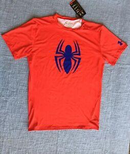 molino Analista Inútil  Nuevo Con Etiquetas Under Armour Hombre Red Camisa Top de compresión  Spiderman Xx-Grande XXL 2XL | eBay