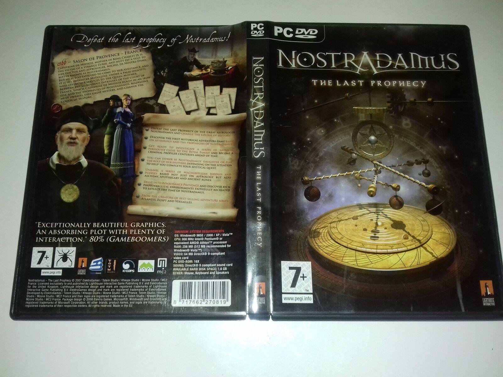 Nostradamus: The Last Prophecy (PC, 2008) - European Version