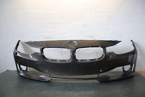 BMW-3er-F30-F31-Paraurti-Anteriore-Paraurti-Nero-Sra-Pdc-105