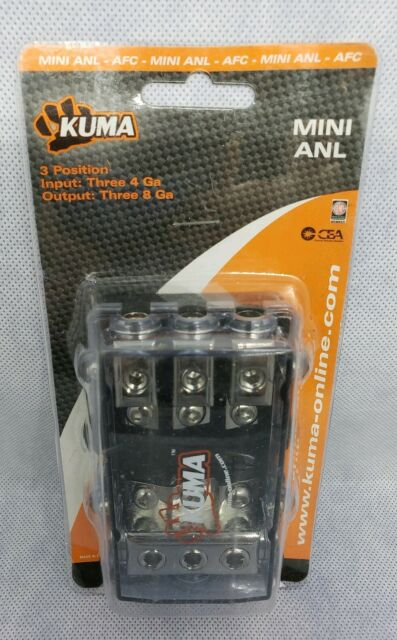 3 position fuse box kuma kfh200n 2 position afc fuse holder for sale online ebay  kuma kfh200n 2 position afc fuse holder