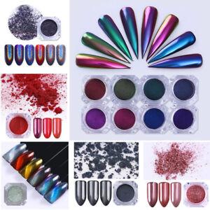 Cameleon-Glitter-Miroir-Nail-Art-Poudre-Ongle-Powder-Pigment-Chrome-Decoration