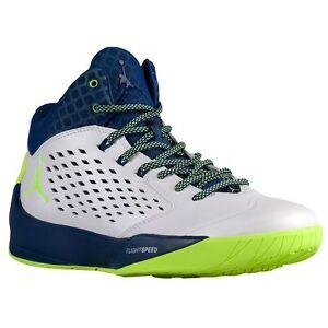 8eb3f6b64a83 768931-102 Air Jordan Rising High Wht Green-Blue-Infrared 23 Size 8 ...